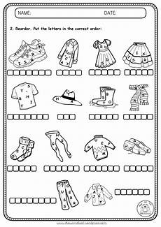 worksheets clothing 18811 worksheets clothes show and text
