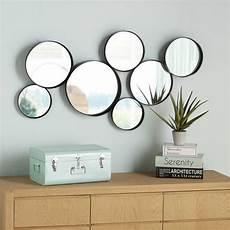 runde spiegel runde spiegel aus schwarzem metall 121x66 decor round