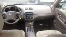 nissan altima interior 2002 nissan altima gold stock k1309011 interior