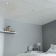 Lambris Pvc Blanc Mat Pour Plafond Isolation Id 233 Es
