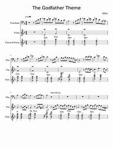 the godfather theme sheet music for violin