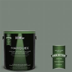 behr marquee 1 gal n410 5 village green gloss enamel exterior paint 545301 the home depot
