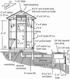 smoke house plans frame smokehouse 5695
