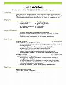 best sales representative resume exle livecareer