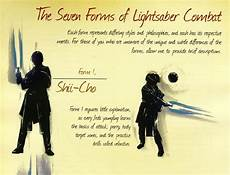 the 7 forms of lightsaber combat part 1