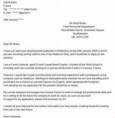 lettre de motivation pour n importe quel emploi