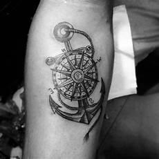 unterarm männer kompass vogel skull tattoos kompass frau kompass