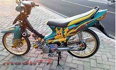 Modifikasi Smash 2008 by 68 Foto Modifikasi Motor Smash Terupdate Teka Teki Motor