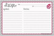 5x7 recipe card template free pretty up that recipe box engineering a home