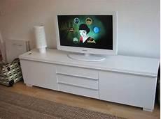 meuble tv ikea blanc laque d occasion