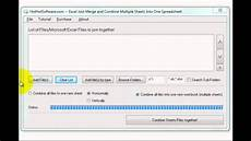 how to excel join merge and combine multiple sheets into