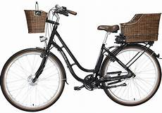 Hollandrad E Bike - fischer e bike retro hollandrad 28 quot frontmotor er 1704