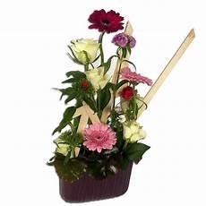 Composition Florale Germinis Roses Oeillet