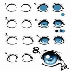 Bilder Zum Nachmalen Augen Augen Malen Eine Anleitung F 252 R Anf 228 Nger Drawing