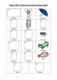 worksheet to test gpc for phase 2 by vanadesse teaching resources