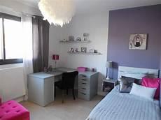 chambre fille violet chambre de fille coloris violet et gris de sc 232 nes d