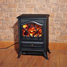 1850w Log Burning Effect Stove Heater Electric