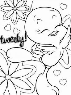cute tweety bird coloring pages free printable cute tweety bird coloring pages