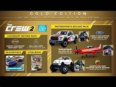the crew 2 reviewing the gold edition bonuses