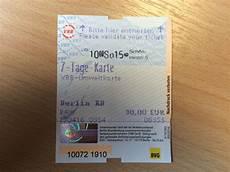 Berlin Transport Ticket Validity Travel Stack