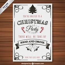 weihnachtsfeier plakat vorlage der kostenlosen