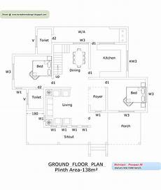 kerala house floor plans kerala home plan and elevation 2378 sq ft kerala home