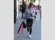 CARA SANTANA Show Her Engagement Ring While Shopping in
