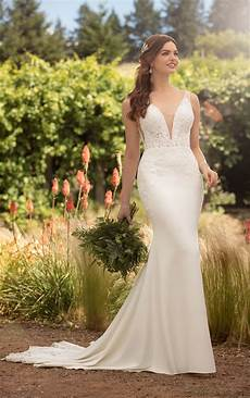 simple and sexy wedding dress essense of australia