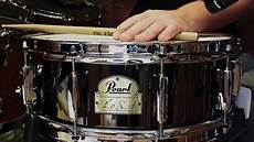 chad smith snare pearl chad smith signature snare 14 quot x 5 quot demo hd