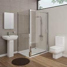 Ensuite Bathroom Showers by Pro En Suite Bathroom Package With 1200mm Sliding