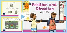 directions worksheets ks1 11570 year 2 position and direction maths warm up powerpoint compass positivity math positional