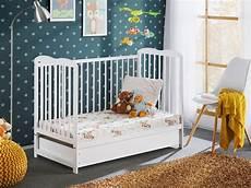 babybett mit matratze babybett mit matratze bambino ii plus x moebel24