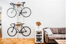 Apartment Bike Rack by Diy Bicycle Rack Built For Two Apartment Therapy