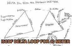 küchenzeile 2 40m 2 element delta loop for 40m