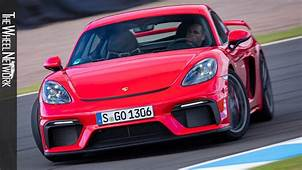 2020 Porsche 718 Cayman GT4 Road & Track Driving  Guards