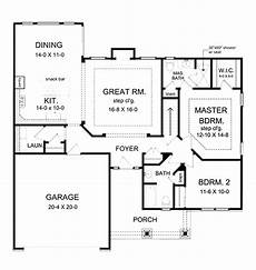 2 bedroom country house plans ranch style house plan 2 beds 2 baths 1350 sq ft plan