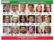 governo consiglio dei ministri ecco la lista dei ministri governo renzi