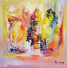 modeles peintures abstraites peinture abstraite au couteau tableau moderne d artiste