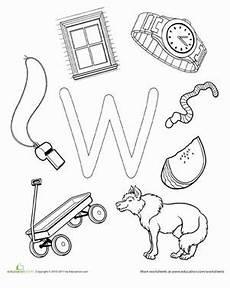 pre k worksheets letter w 24429 w is for preschool letters learning letters letter w crafts