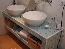 Badezimmer Selber Machen - waschbecken tisch selber bauen abdeckung ablauf dusche