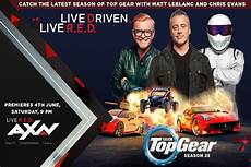 Excitement Accelerated With Top Gear Season 23 Only On Axn