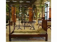letti a baldacchino in legno letto antico a baldacchino in legno di noce novit 224 new