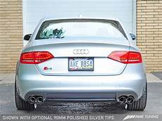 awe tuning b8 b8 5 audi s4 track edition cat back exhaust system awe b8 audi s4 cbe track