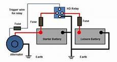 split charging guide 12 volt planet