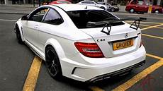 Mercedes C63 Amg Black Series Revs And Sounds In