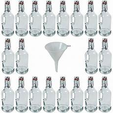 haushaltswaren online viva haushaltswaren 20 gallon 200 ml glass bottles with
