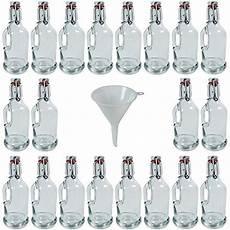 haushaltswaren online viva haushaltswaren 20 gallon 200 ml glass bottles with