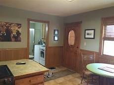 help should i paint the wainscotting on my kitchen walls