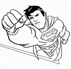 superman coloring pages fotolip