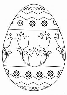 30 free easter egg coloring pages printable